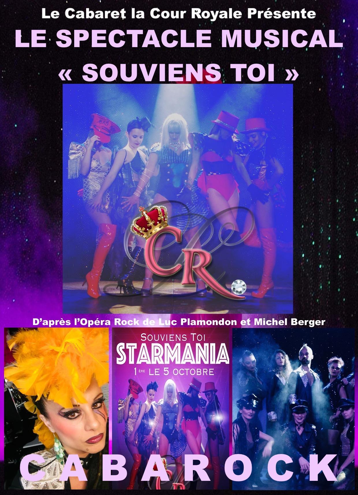 Dîner spectacle VAR Revue Starmania au cabaret la cour royale var, Dîners Spectacles